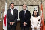 中原JEI会長が長野県表敬訪問。阿部守一知事、中島恵理副知事と懇談